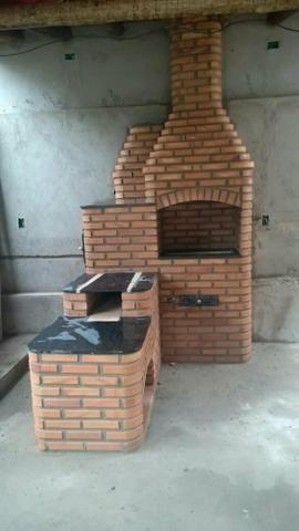 Fogão com forno e churrasqueira . área gourmet.piscina e sauna - Foto 4