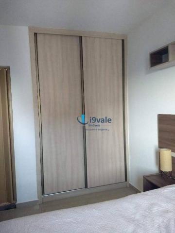 3 dormitórios sendo uma suíte e sacada na sala - jardim das indústrias - jacareí - Foto 14