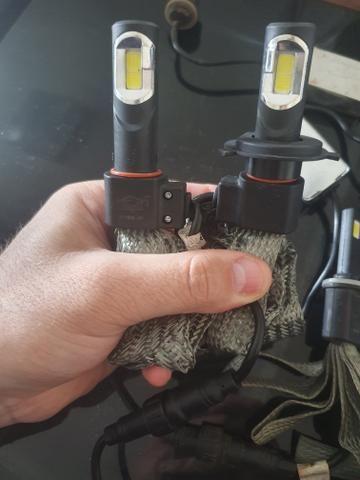 Ix 35 Super Lampadas Led Farol e Milha Neblina (H27) - Foto 2