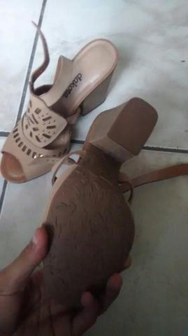 Salto/sandalha feminina - Foto 2