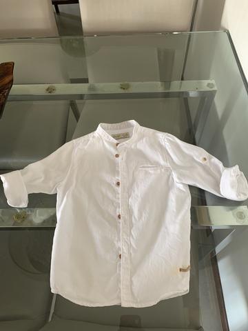 Camisa zara branca