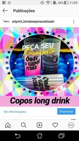 PROMOÇÃO copo long drink DEGRADE - Foto 3