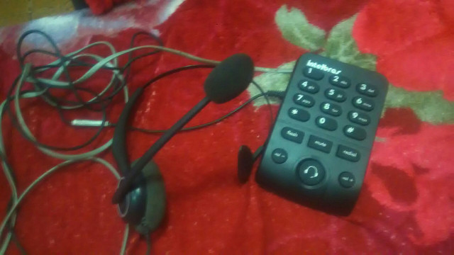 Headset Telefone com microfone