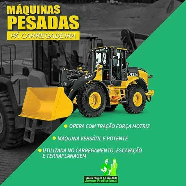 CURSO DE OPERADOR DE MAQUINAS PESADAS