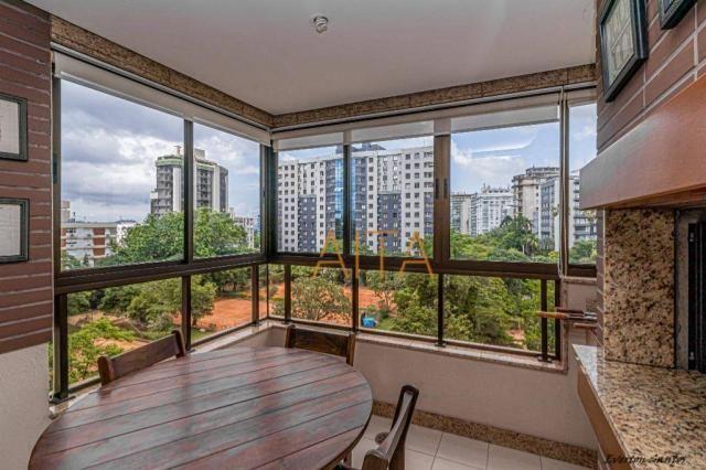 Apartamento com 2 dormitórios para alugar, 80 m² por R$ 4.500,00/mês - Moinhos de Vento -  - Foto 4