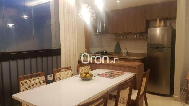 Apartamento com 2 dormitórios à venda, 62 m² por R$ 278.000,00 - Aeroviário - Goiânia/GO - Foto 7