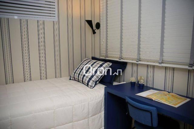 Apartamento com 3 dormitórios à venda, 94 m² por R$ 451.000,00 - Jardim Atlântico - Goiâni - Foto 9