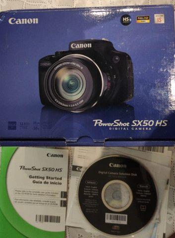 Câmera semi-profissional Canon SX50Hs - Foto 2