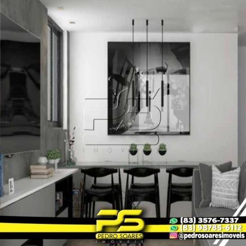 Apartamento com 2 dormitórios à venda, 60 m² por R$ 216.900,00 - Altiplano Cabo Branco - J - Foto 3