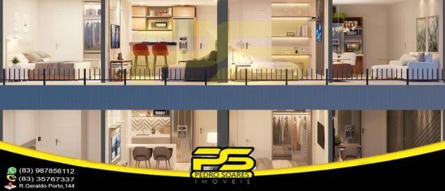 Oportunidade, apartamento, 02 suítes, piscina, 53,77m², por apenas R$ 389.563,65, em Bessa - Foto 13