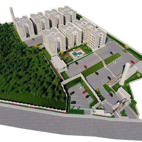 Parque Jardim di Stuttgart - Apartamento 2 quartos em Joinville, SC - 39m² - ID3977 - Foto 8