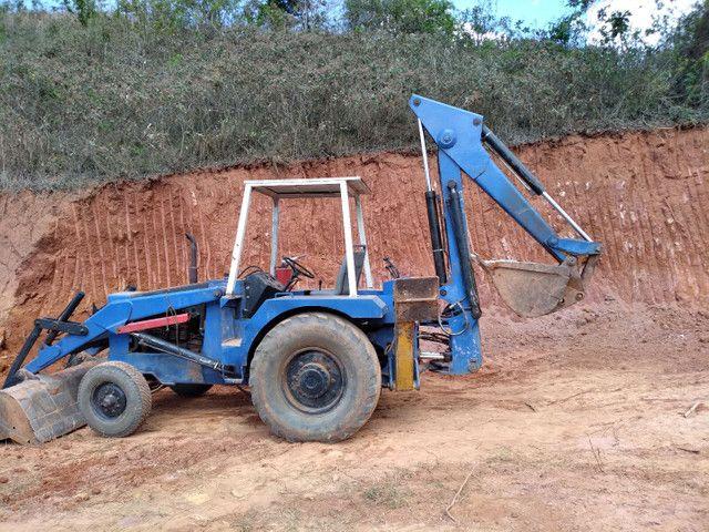 Máquina retrô escavadeira  - Foto 4