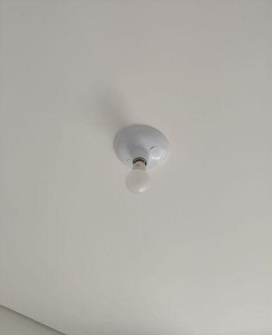 Kit 10 Luminária Plafon Simples Bocal Cerâmico Soquete E27 - Foto 3