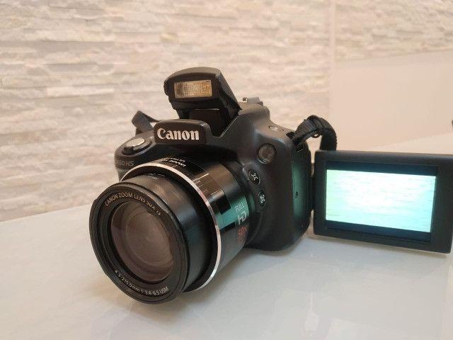 Câmera semi-profissional Canon SX50Hs - Foto 6