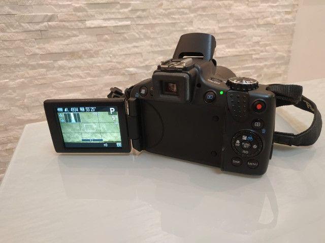 Câmera semi-profissional Canon SX50Hs - Foto 5