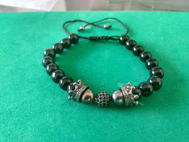 Bracelete Zircônias Pretas - Foto 3