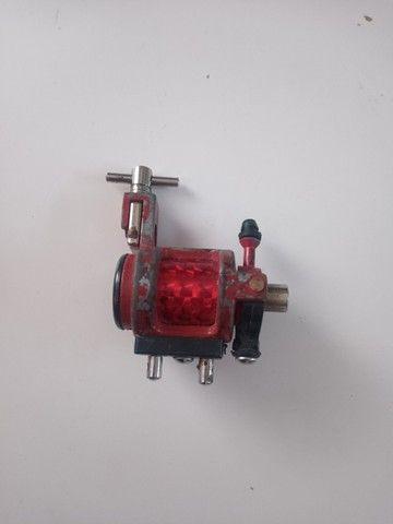 Maquinas tattoo + fonte com pedal e cabos - Foto 3