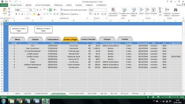 pacote planilhas profissionais 140 planilhas profissionais + 50 sistemas access para MEI - Foto 6