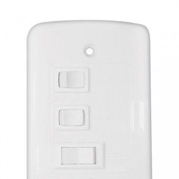 Ventilador de Teto Ventisol modelo Wind Branco novo, em dinheiro 127v - Foto 2
