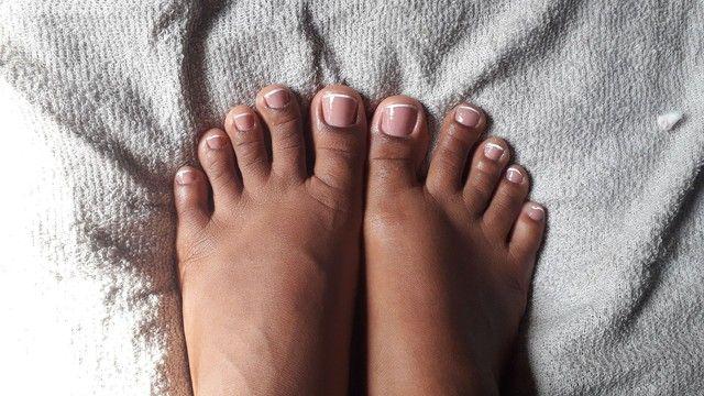 Unhas de alongamento e pedicure e manicure  - Foto 4