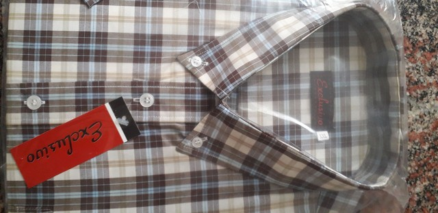 Camisa manga curta XXL