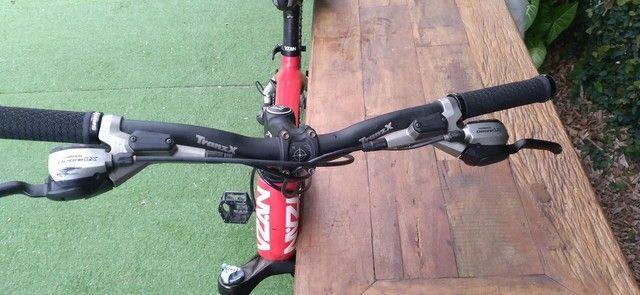Bicicleta de fibra de carbono toda Shimano