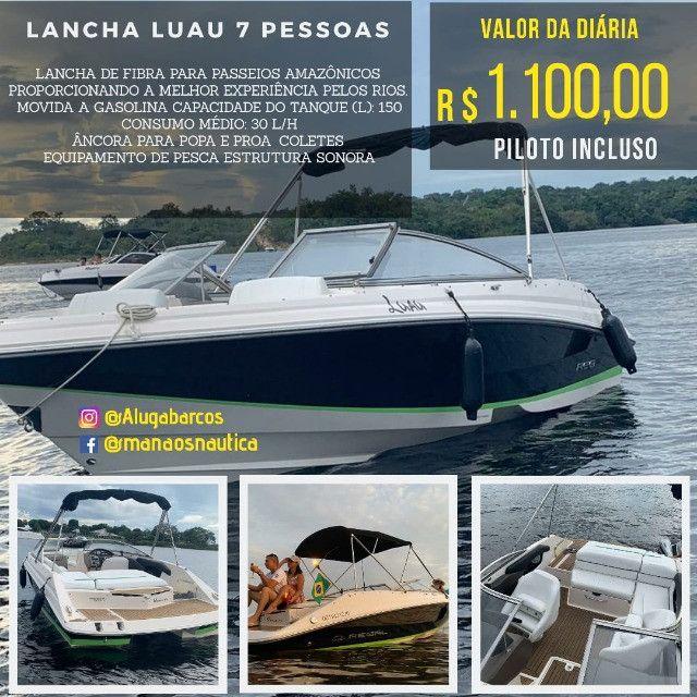 _ Alugo Lancha em Manaus, Traga sua Família - Foto 3