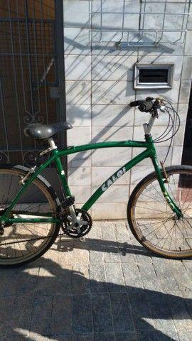 Bicicleta aro 26 18 marchas de alumínio