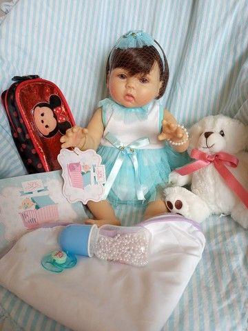 Lindas bonecas tipo reborm realista NOVAS