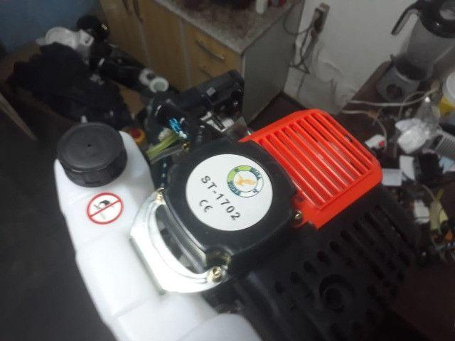 Caiaque Caiman - 100 com motor, vendo ou troco por um  caiaque de pedal. - Foto 5