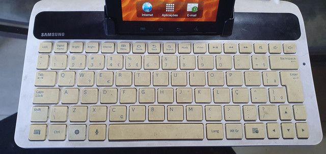 Tablet e teclado Samsung  - Foto 3