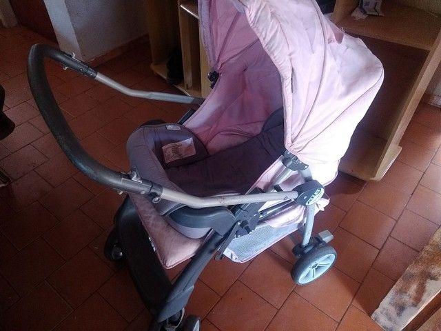 Carrinho de bebê em bom estado - Foto 5