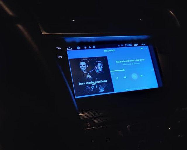 Kit Multmidia Android Citroen C4 Lounge - Hertzer ( Completo) - Foto 3