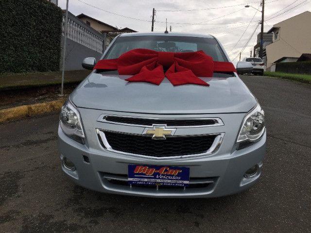 Chevrolet Cobalt Lt Flex 2013 Completo Automático - Foto 2