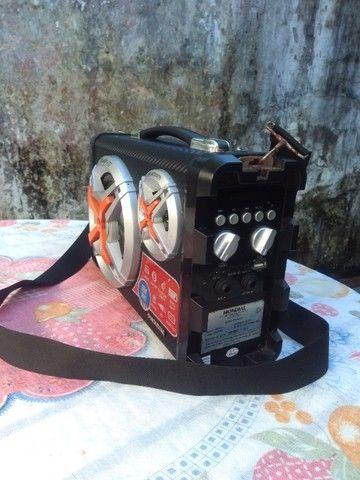 Som mondial portátil bateria recarregavel - Foto 4