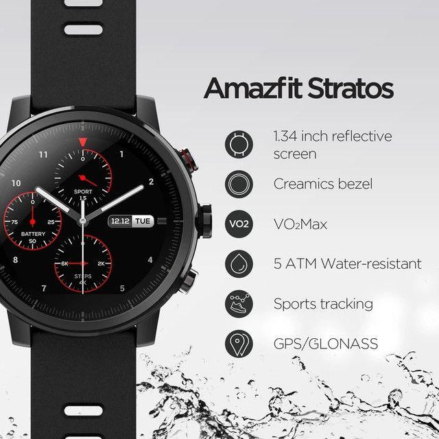 Amazfit Stratos 2 - smartwatch - Foto 4
