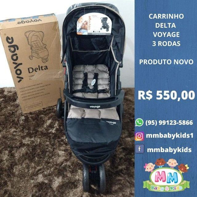 Carrinho Voyage Delta de 3 Rodas Unisex Produto Novo