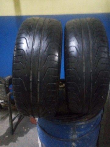 2 Pneus Pirelli 195x55-15 - Foto 2