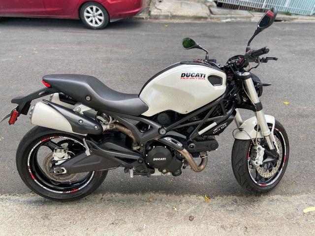 Ducati Monster 18km rodados estudo trocas - Foto 2