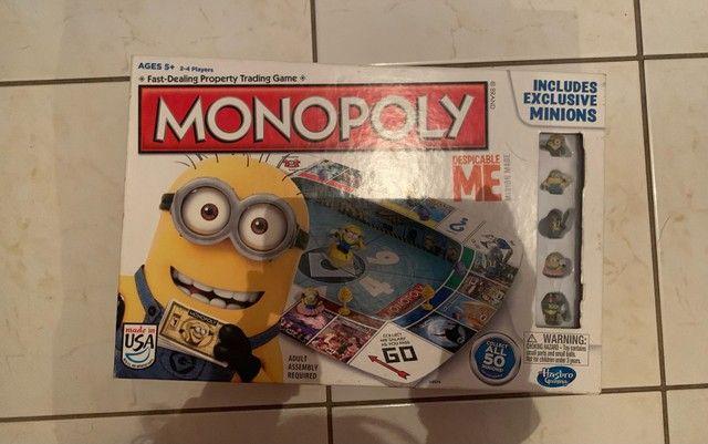 Monopoly - Jogo de Tabuleiro do Minion