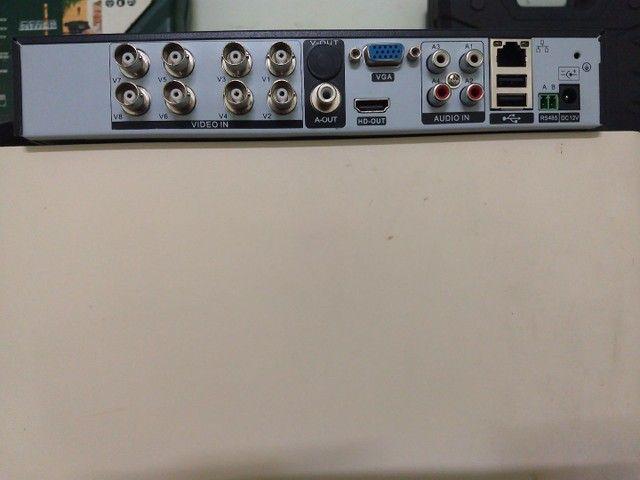 Vendo um DVR EJCF com HD de 1 terá usado 350 - Foto 4