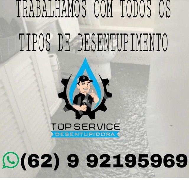 DESEntupidora é DEDETIZADORA. / TOP SERVICE.