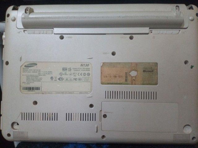 Netbook Samsung n130 retirada de peças - Foto 5