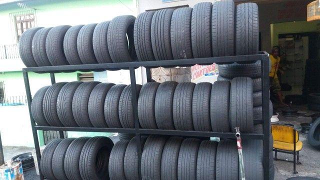 J.T Pneus borracharia pneu aro 15 195/65/15 a partir de r$ 70 - Foto 2