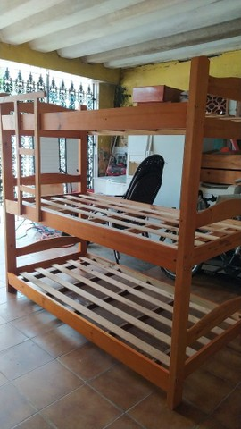 Triliche de Madeira Marfim