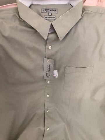 Camisas masculinas plus size NOVA - Foto 3