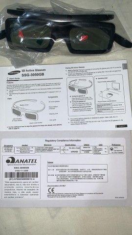 Vendo óculos 3D Samsung. NOVO - Foto 5