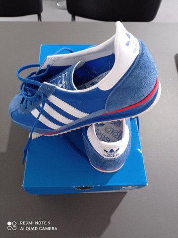 Tênis Adidas Sl 72 Azul Novo - Foto 2