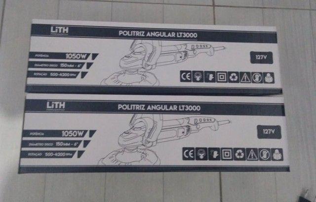 Politriz Angular Velocidade Variável 6 Pol. 1050W - Lith - Foto 3