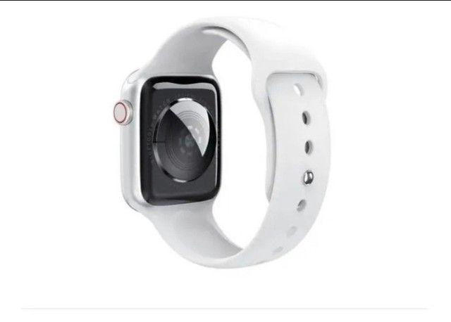 ?Oferta dia dos namorados smartwatch modelo iwo W46! - Foto 3